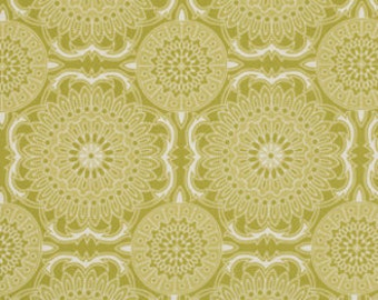 Joel Dewberry Fabric - 1 Fat Quarter Bungalow -  Doily in Grassland / Free Spirit Fabric