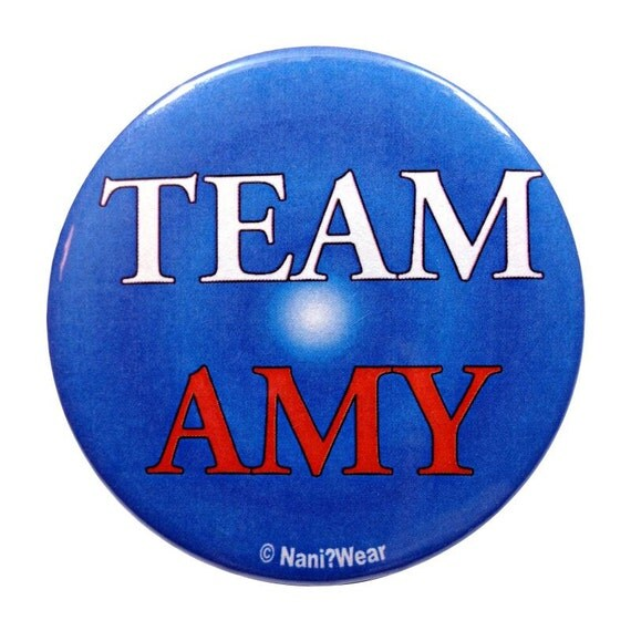Team Amy 11th Doctor 2-inch Button