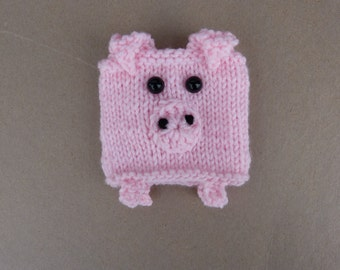 Pig Coffee Cozy