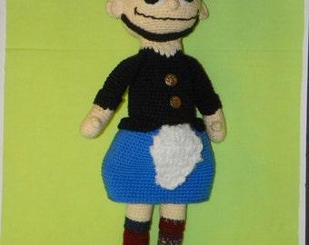 Pyron the Scottish Man crochet pattern pdf