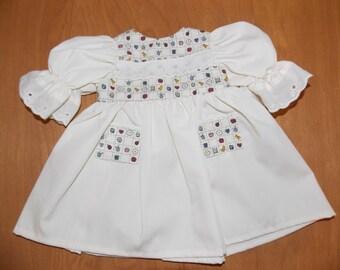 18 inch doll dress, Girl Dress, Gift for Girl, Girl Doll Clothes, Gift for Girl, Gift under 15, Vintage Dress Style Historic Dress