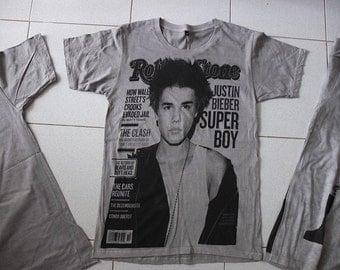 Teen Idol JustinGrey T-shirt S