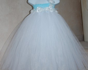 Beautiful Beach Wedding Flowergirl Dress