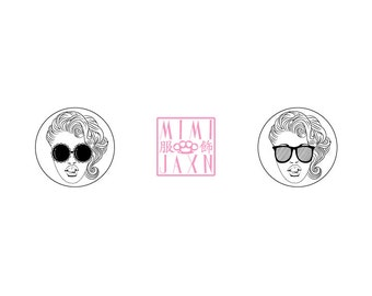 """2 1/4"""" Summertime Style Pinback Button"""
