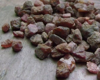 Natural Raw Ruby - 5 grams or 1 ounce you choose