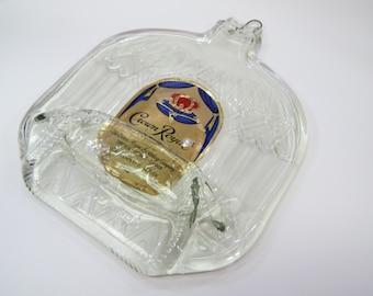 Crown Royal Bottle Melted Flat