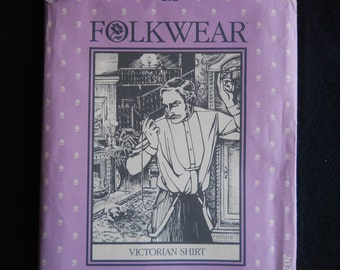 Folkwear 202 - Victorian Shirt, Sizes for Men and Women, 1982