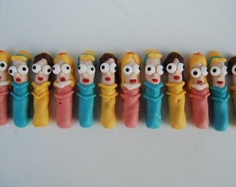 PlainOldeJane  CINDERELLA, BELLE and AURORA Disney Princesses