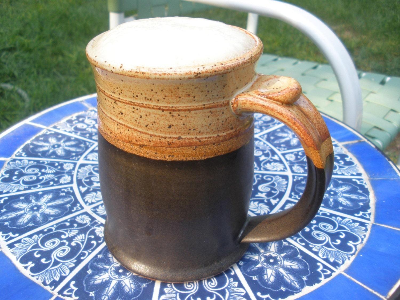 Stoneware Pottery Beer Stein