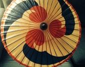 Rare Chicago Worlds Fair 1933 Parasol