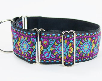 "2"" Wide Jacquard Martingale Collar"