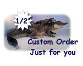 """1/2"""" Bracelet - One Side Custom Metal Stamped"""
