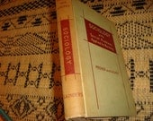 1950 Sociology with Social Problems Applied to Nursing Vintage Book Nursing Education