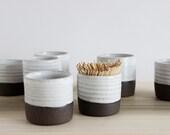 SALE - Toothpick holder! Party pottery.