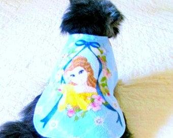 Fleece Dog Coat, Small Dog Coat, Dog Coat, Made to Order Dog, Dog Clothes, Dog Clothing, Pomeranian Coat, Shih Tzu Coat