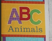 ABC Animals - Cloth Story Book, Learning Book, Childrens and Kids Book, Baby Book