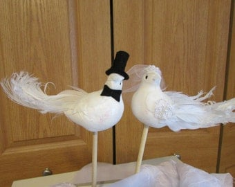 bird cake toppers etsy