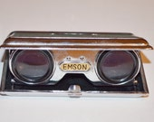 Emson Opera Glasses, Vintage Opera Glasses, Vintage Collectible