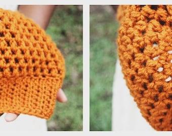 The Crochet Autumn Hat.