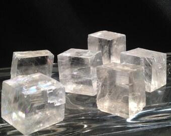 Optic Calcite - Iceland Spar - Viking Sunstone  * Birefringent Navigation Crystal of the Ancient Norse *