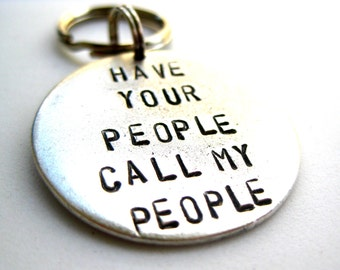 Have Your People Call My People: Aluminum, Brass, or Copper Pet ID Tag
