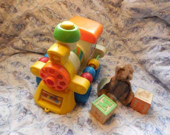 Vintage CBS Toy Busy Choo Choo Train Child Guidance Learning Toy 1982 playskool, Toys, Train, Vintage Preschool Toys, Vintage Toys,  :)s
