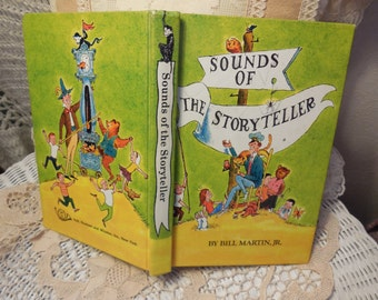 Sounds of the Storyteller Hardcover by Bill Martin Jr. 1966 classic poems and stories