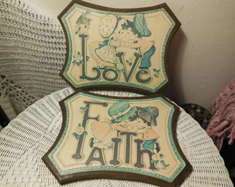 Faith Love Wall Hangings Sweet /)SALE CLEARINGOUT25 must use at check out