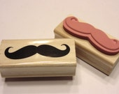 mustach, rubber stamp, 55 mm (SB2)