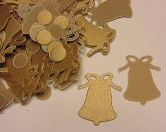 golden bell confetti , 20 x 25 mm (7)