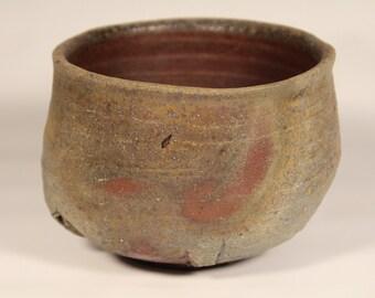 Tebineri Bizen - style Chawan (Tea Bowl) - 5 Day Anagama 2013