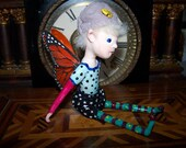 "OOAK  Fantasy  Art   Doll..""  House  Fairy ."".    Hand Sculpt    By Connie"