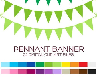 Tassel Garland Clipart Banner Clipart Pennant Clipart Bunting ...