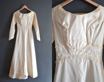 60s wedding dress / 1960s wedding dress / Sadie