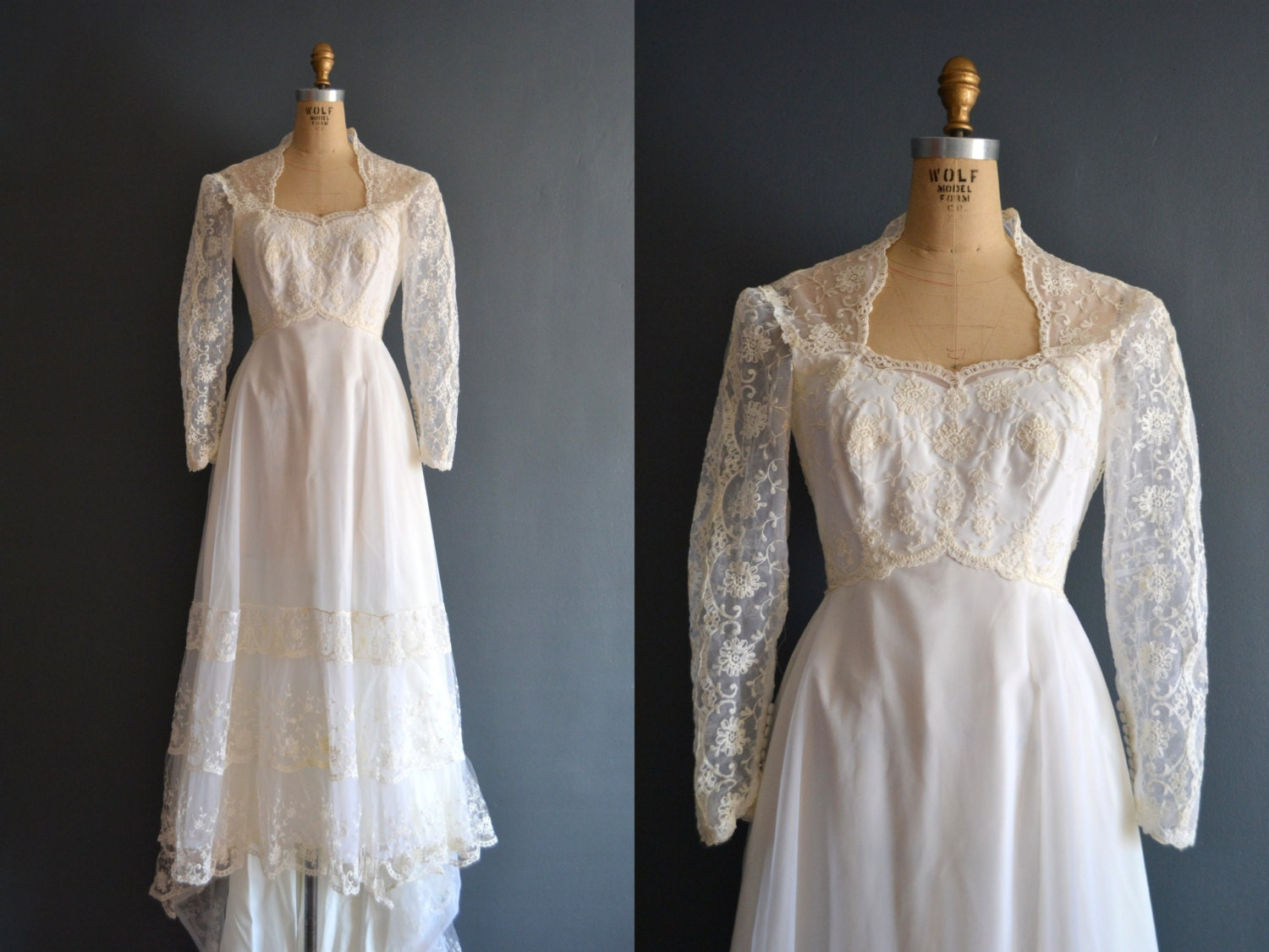 Sale 70s wedding dress 1970s wedding dress hadley for 1970s wedding dresses for sale