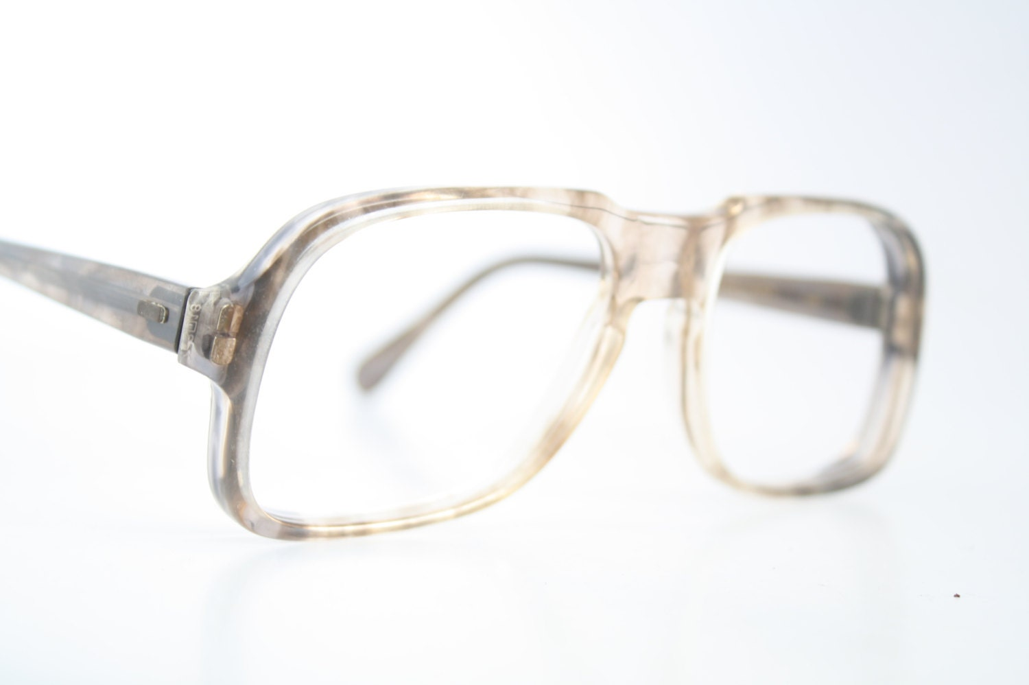 Old Eyeglass Frames New Lenses : Vintage Eyeglasses Univis Unused New Old Stock by PinceNezShop