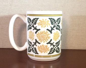 Mum Motif Mug in Golden Yellow