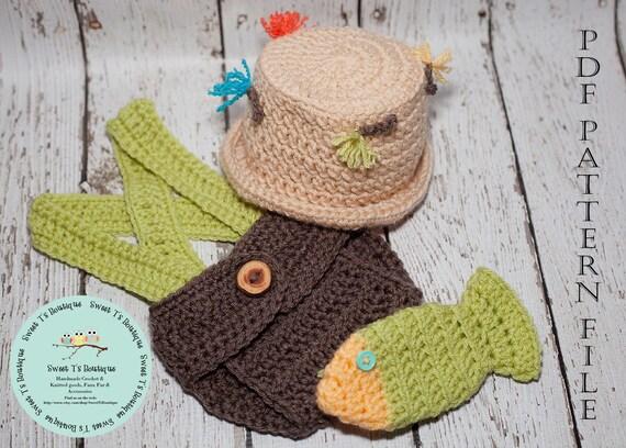 Crochet Pattern 110 Crochet Fly Fishing Hat By Sweettsboutique