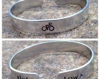 Bike Iowa Bracelet