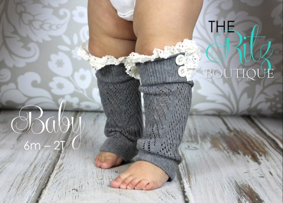 A girl can never have too many tights! Keep her legs snuggly warm in super soft tights and ruffled leggings. Sweet and soft baby leg warmers will keep her knees covered and cute while learning to crawl.