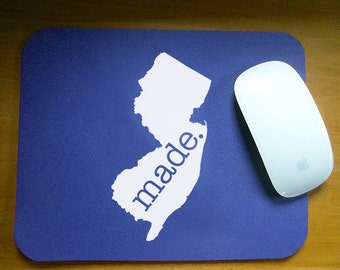 New Jersey  'Made' Computer Mouse Pad