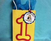 disney special agent oso 10 favor bag decorations