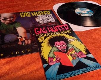 SALE Vintage Gas Huffer Vinyl Record Album and Comic 1994 One Inch Masters Rare HTF Alternative Rock