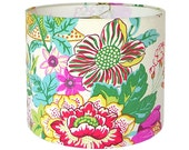 Lamp Shade Lampshade Portobello Vase by PK Lifestyle Williamsburg Collection in Blossom Floral Made to Order