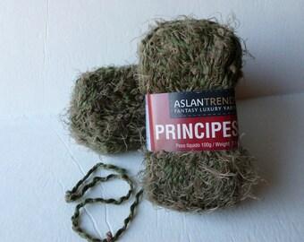 Yarn Sale  - Green Principessa by Aslandtrends Fantasy Luxury Yarns