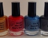 Full Trekkie Collection: Four Full Sized Polishes