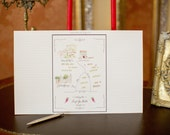 Watercolor Guest Book Sign In