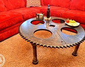 Industrial Gear Table - RoostersCreations