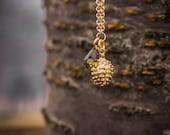 In True Acorn Form Necklace