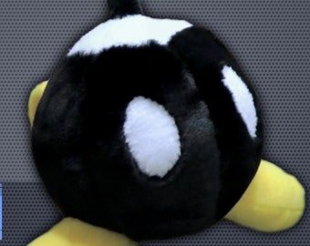Plush Bob-Omb Pattern - Super Mario Bros